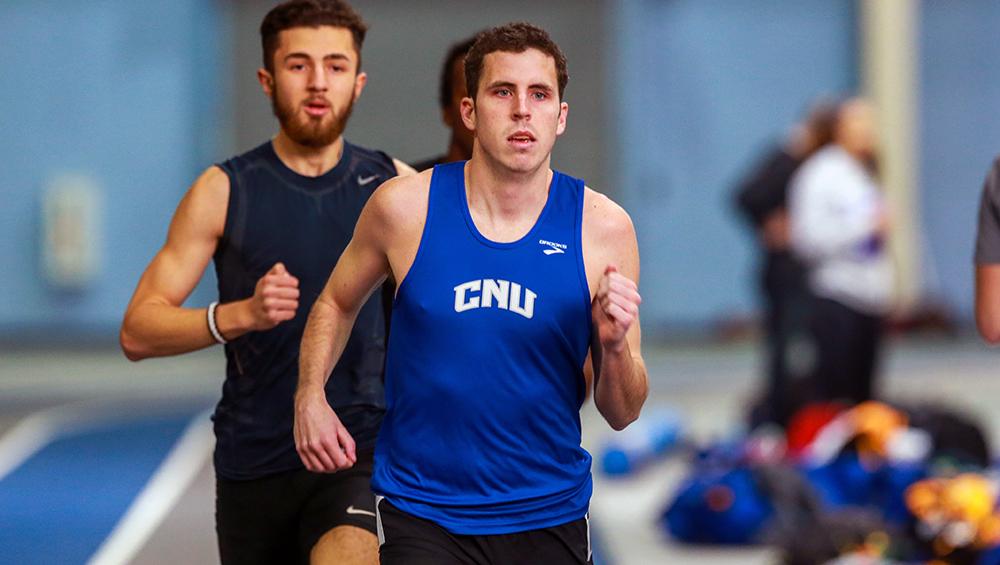 Men's Distance Medley Relay Topples Record at David Hemery Valentine Invitational on Friday